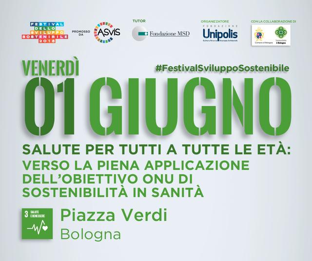 Obiettivo 2030 Festival Dello Sviluppo Sostenibile 2018 Goal 3 Salute Per Tutti A Tutte Le Eta